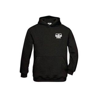 B-Funk hoodie met logo en bedrukking op achterzijde