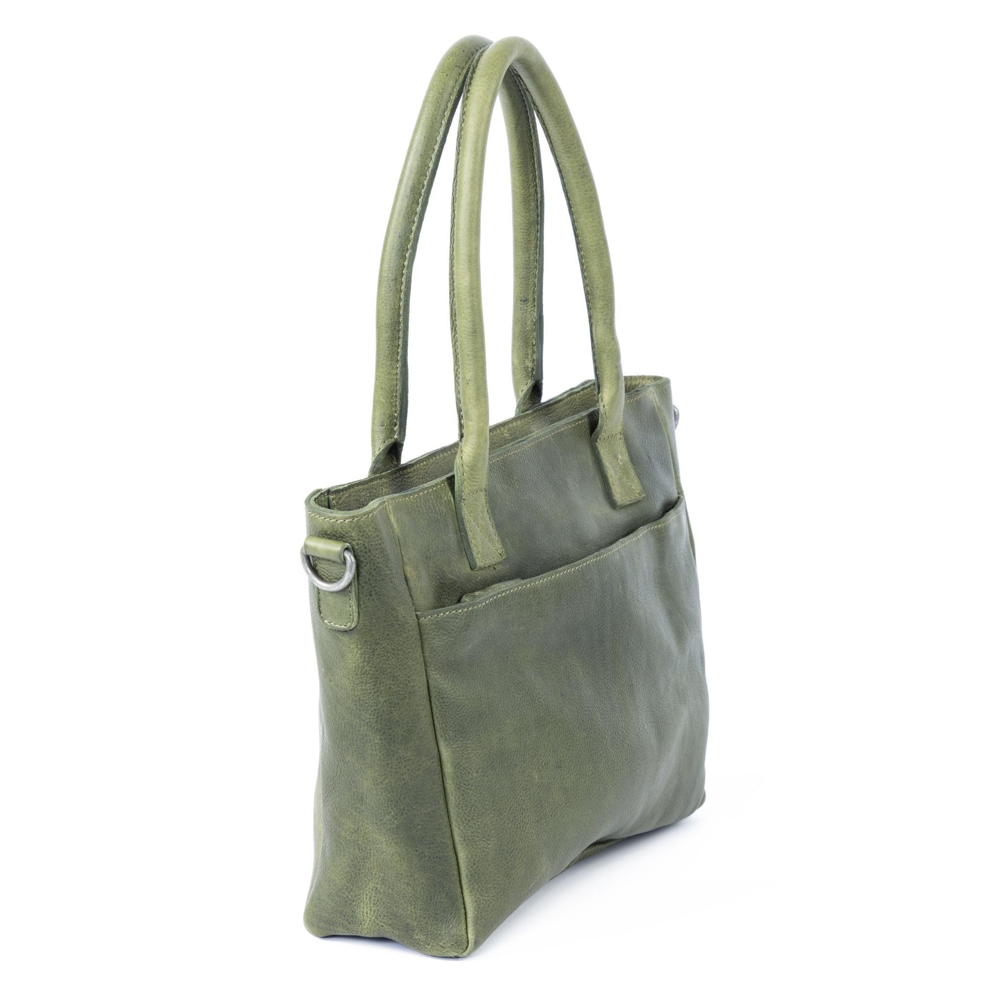 DSTRCT Raider Road Handbag - Green