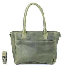 DSTRCT Raider Road Handbag - Green