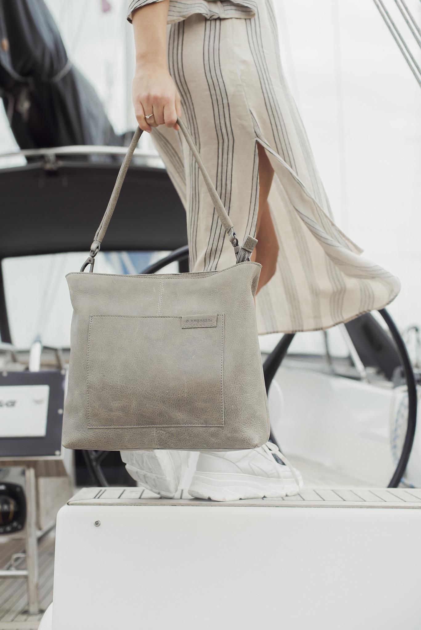 MicMacBags Shopper Côte d'Azur - Middengrijs