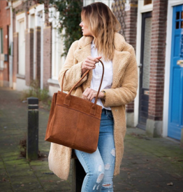 DSTRCT Portland Road Shopper Medium - Chestnut