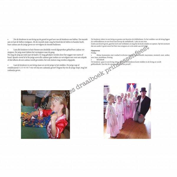 Postpakket voor een prinsessen speurtocht, materialen voor 10 kinderen.
