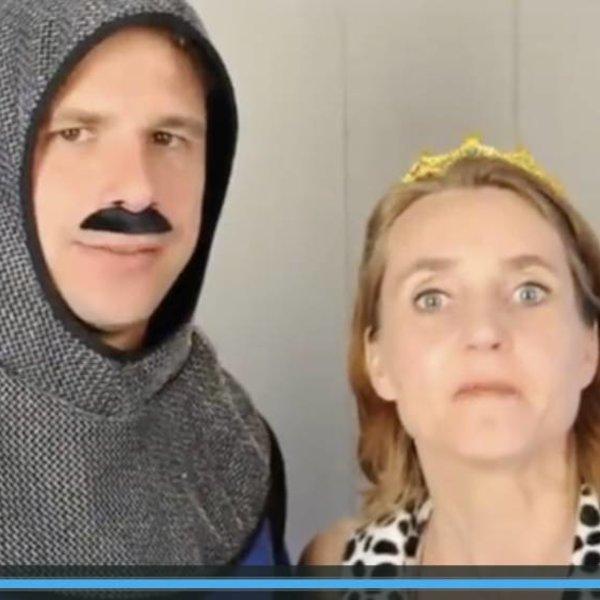 Organiseer thuis een ridders en prinsessenspeurtocht met dit pakket