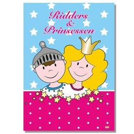 Deurposter voor Ridders en prinsessenfeestje