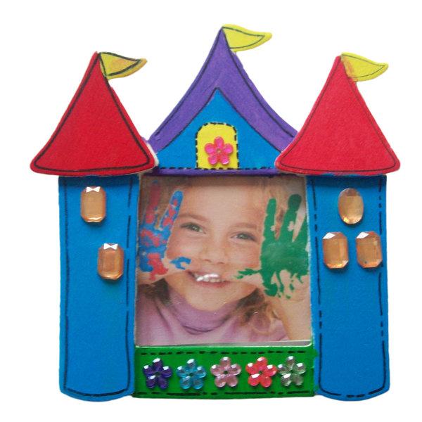 Knutselpakket fotolijstje maken kasteel