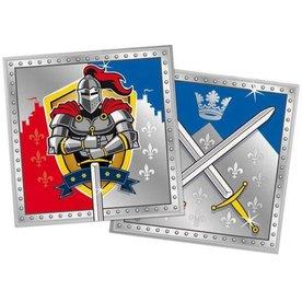 servetten stoere ridders