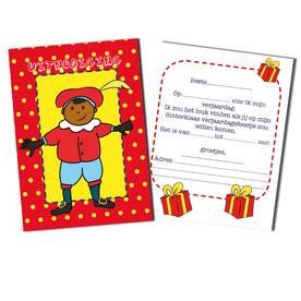 uitnodiging Sinterklaas feest