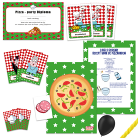 postpakket pizzaspeurtocht