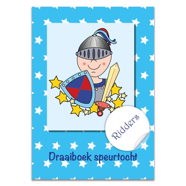 Postpakket ridderspeurtocht, compleet speurtocht pakket voor een groep van 10 kinderen.