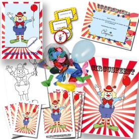 Postpakket voor circus speurtocht