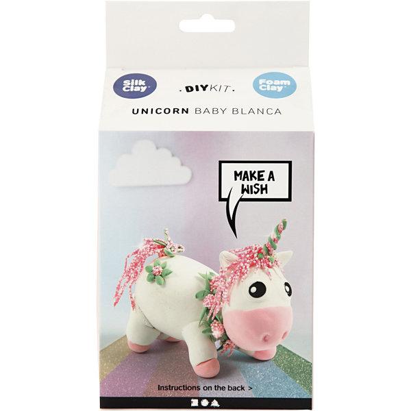 Knutselset funny friends unicorn roze