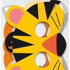 dierenmaskers 8 stuks