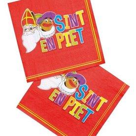 servetten Sinterklaas