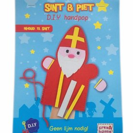 handpop maken Sinterklaas
