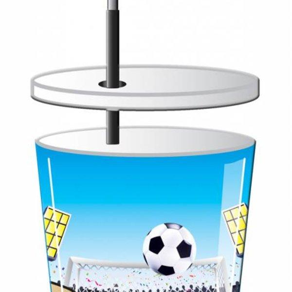 bekers voetbal 3d