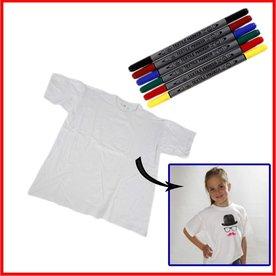 knutselpakket t-shirt versieren