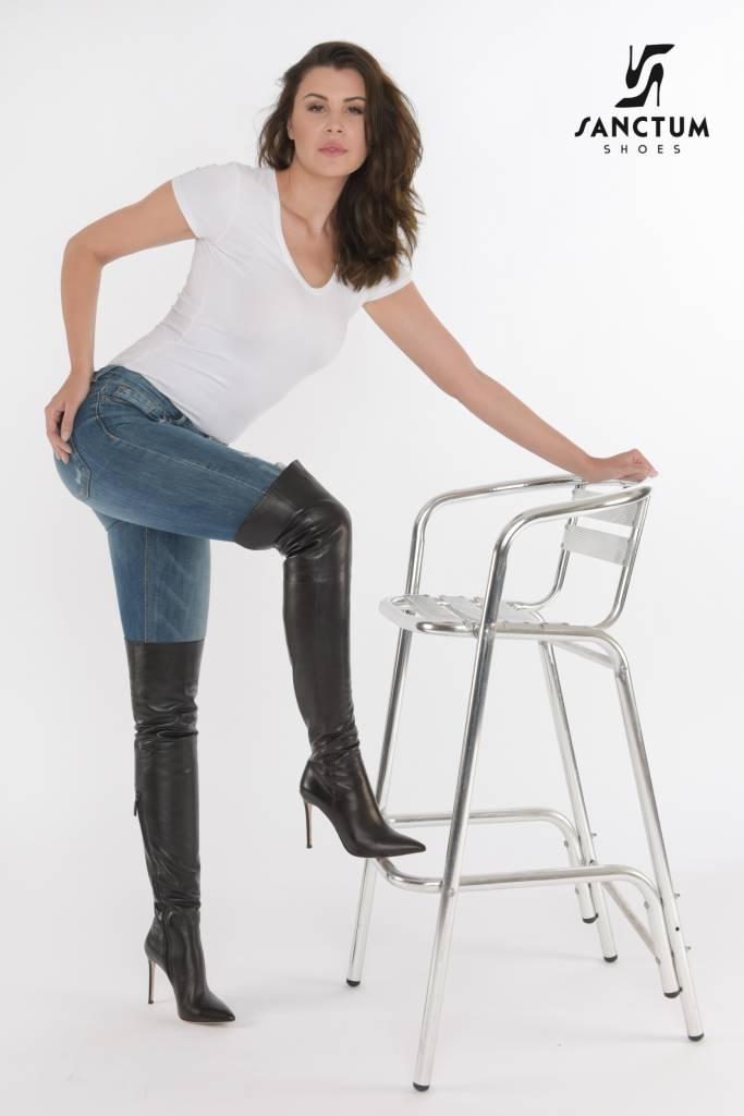 High fashion boots