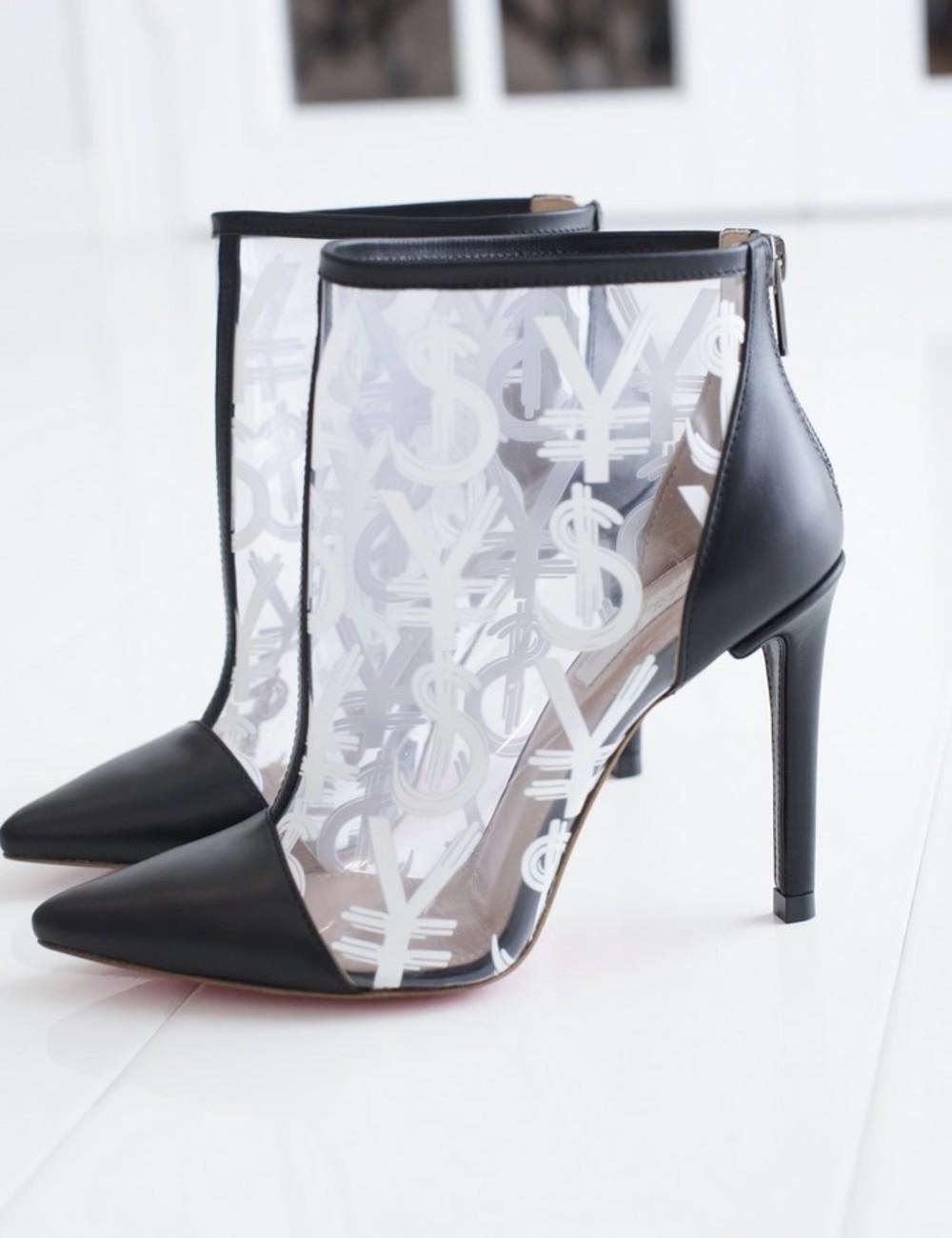 Yarose Shulzhenko Designer transparante enkellaarzen
