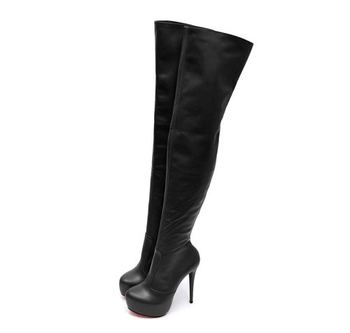 Yarose Shulzhenko Designer high leather platform boots