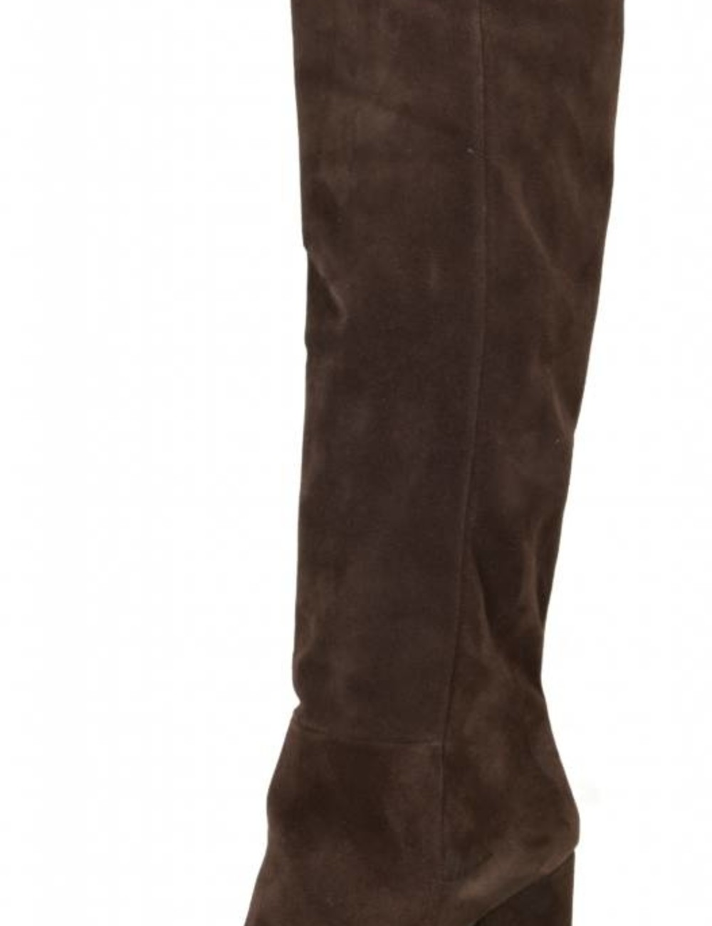 Sanctum Shoes Long pull on knee boots with high heels in suede