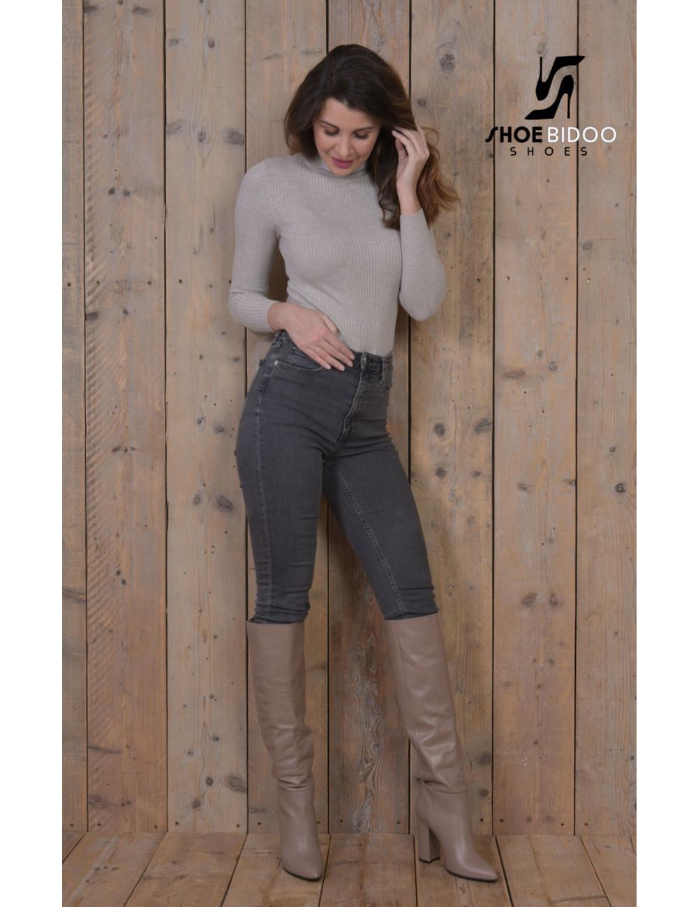 Sanctum Shoes Olga in Italiaanse leren knielaarzen