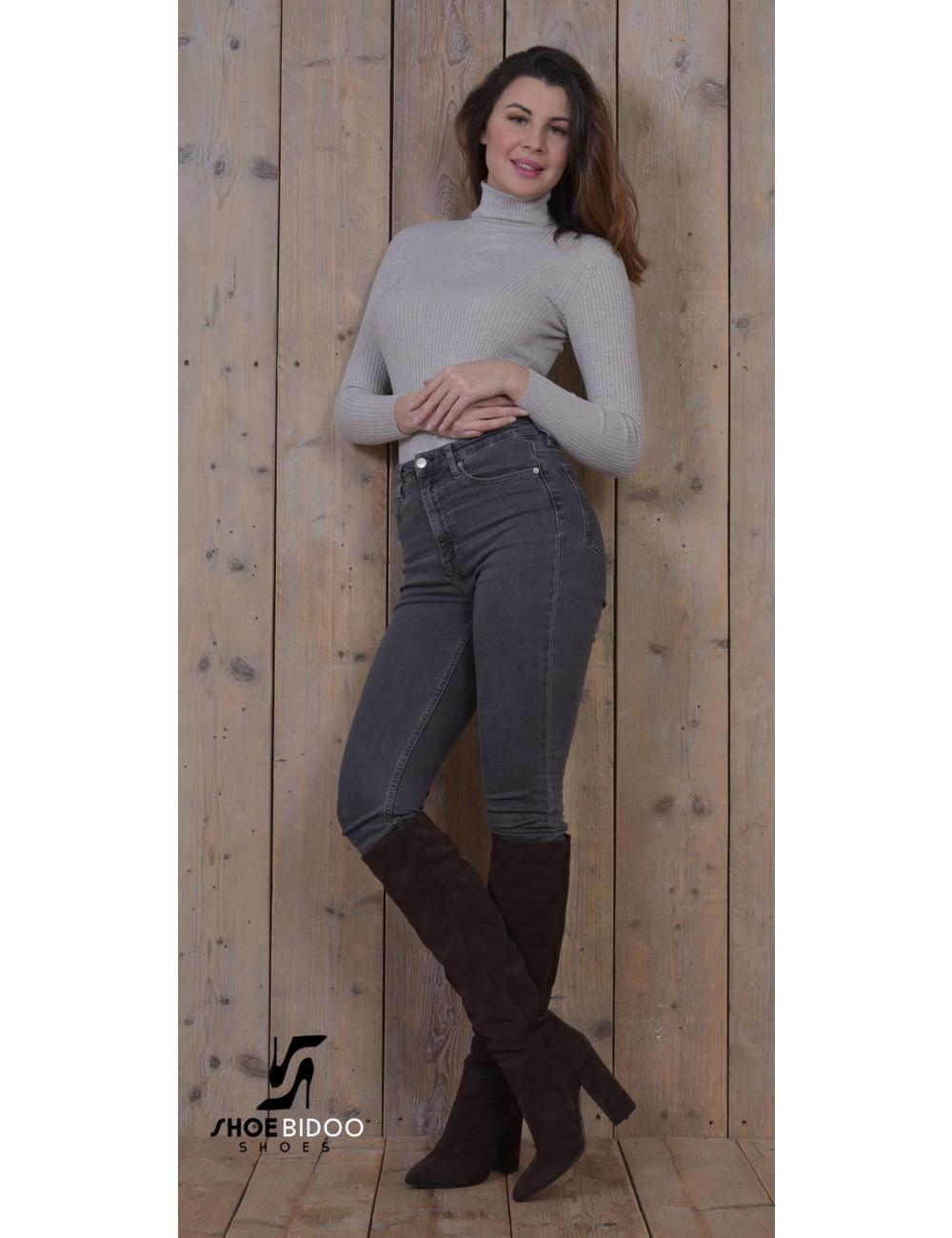 Sanctum Shoes Olga in Italian leather knee boots