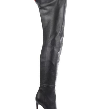 Sanctum  Custom made high Italian crotch boots VESTA with stiletto heels in genuine leather