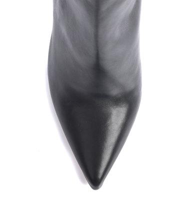 Sanctum Custom Op Maat - Extra hoge Italiaanse lieslaarzen VESTA met naaldhakken in echt leer
