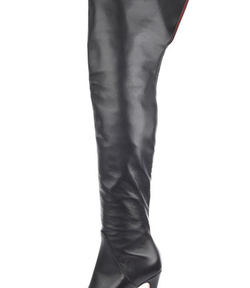 Sanctum  Custom High Italian thigh boots ISIS with platform heels in real leather