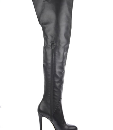 Sanctum Custom Custom High Italian thigh boots ISIS with platform heels in real leather