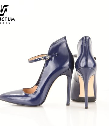 Paoletti Paoletti pumps real leather blue outlet