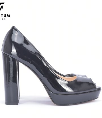 MIA zwart glanzende pumps
