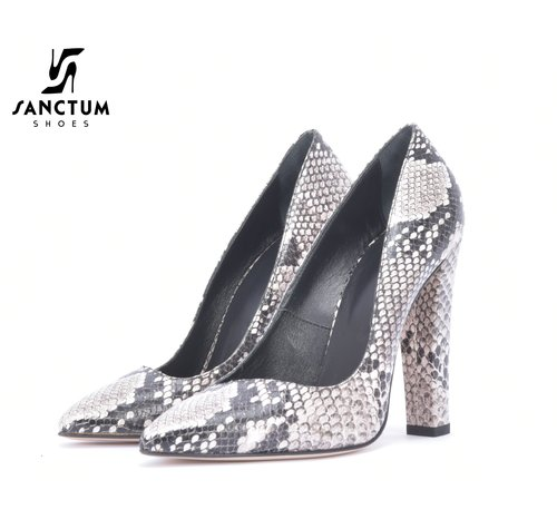Italiaanse Snake pumps outlet