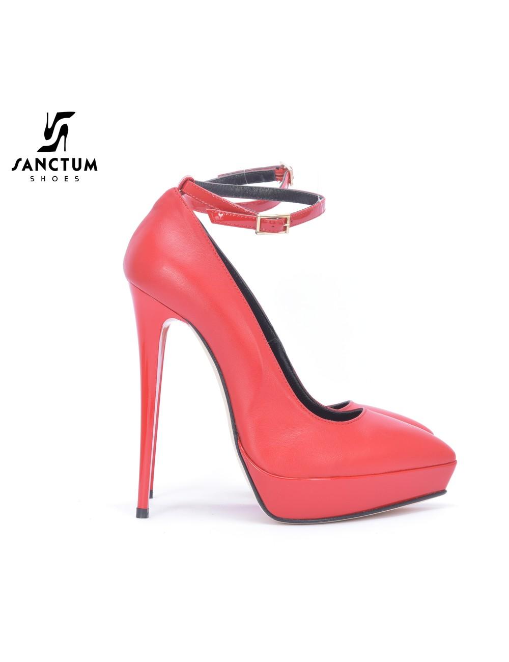 Sanctum  Sanctum Italian pumps in patent and matte leather pumps outlet