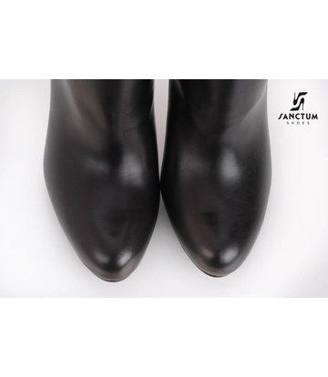 Sanctum  Long thigh high boots with high block heels