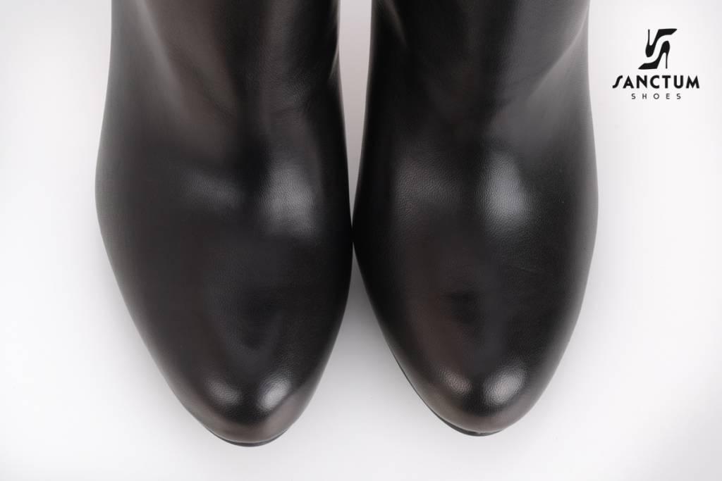 Sanctum  Long Italian overknee boots with chunky heels