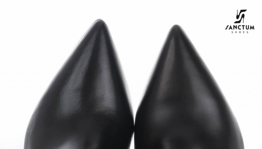 Sanctum  Instap enkellaarsjes zonder rits met dunne hakken