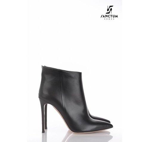 Sanctum  A2312 - ANKLE BOOTS  BLACK NAPPA