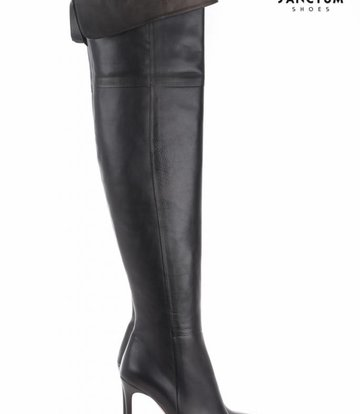 Sanctum  Long high boots with thin heels