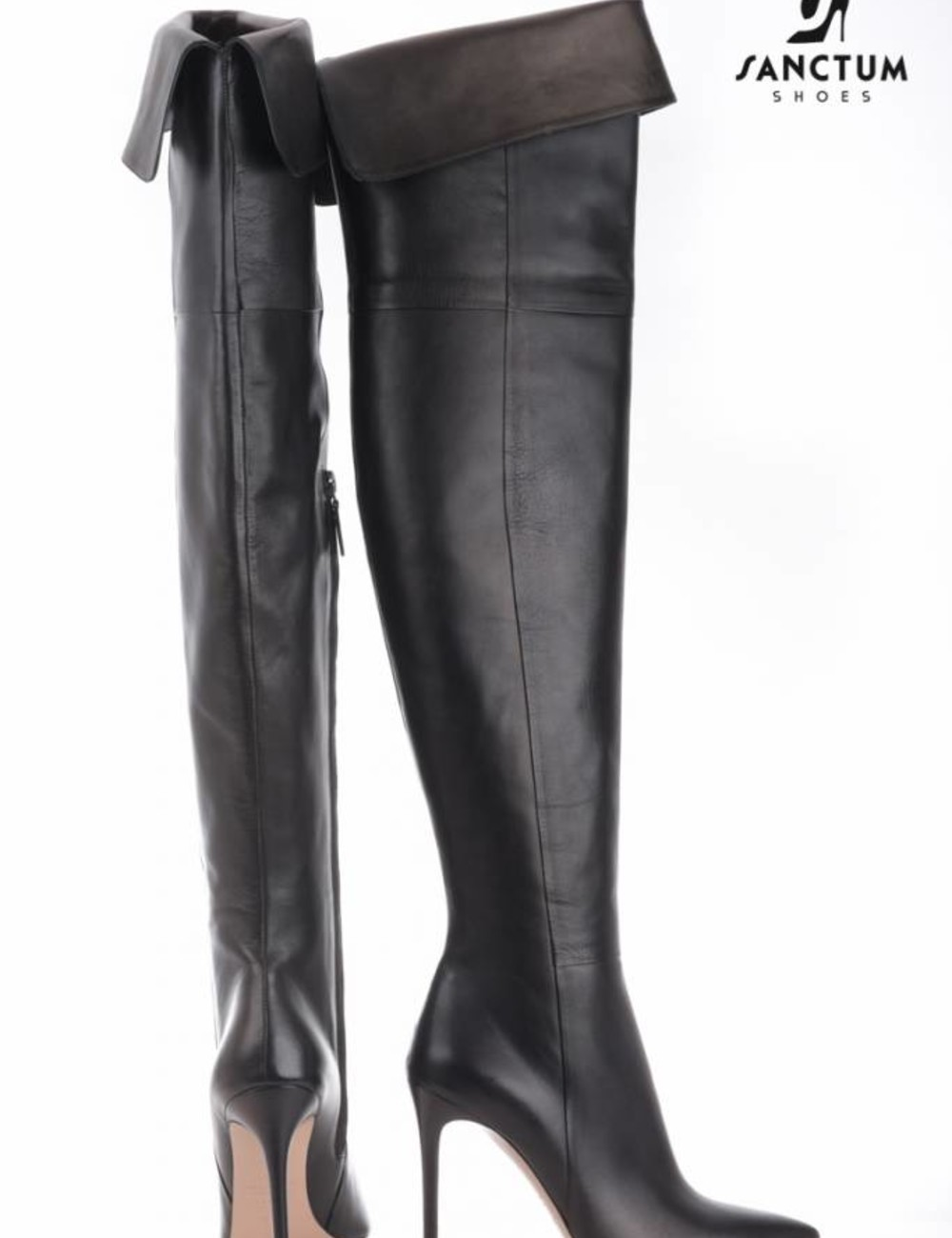 Sanctum  Lange hoge laarzen met dunne hakken