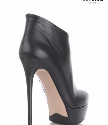 Sanctum  High ankle boots with platform heels in real leather