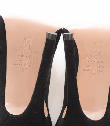 Sanctum  Italian suede pumps with thin heels
