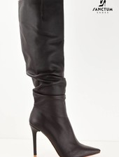 Yarose Shulzhenko Designer Chocolat knee boots - Made To Measure