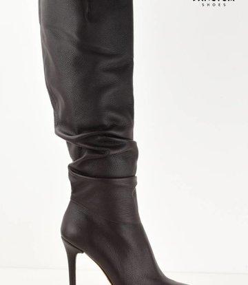 Yarose Shulzhenko Designer Chocolat knee boots - Made To Measure