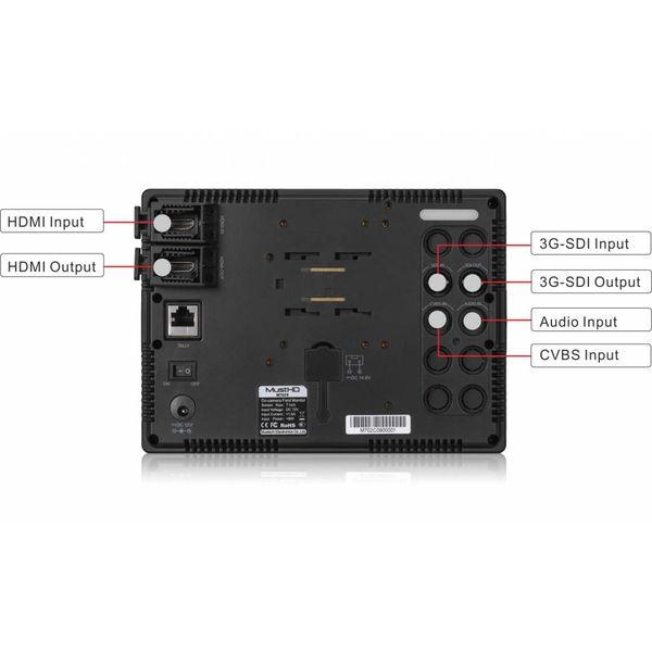 """MustHD MustHD 7"""" Full-HD 3G-SDI Fieldmonitor"""