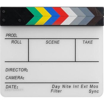 Alphatron Filmklapper