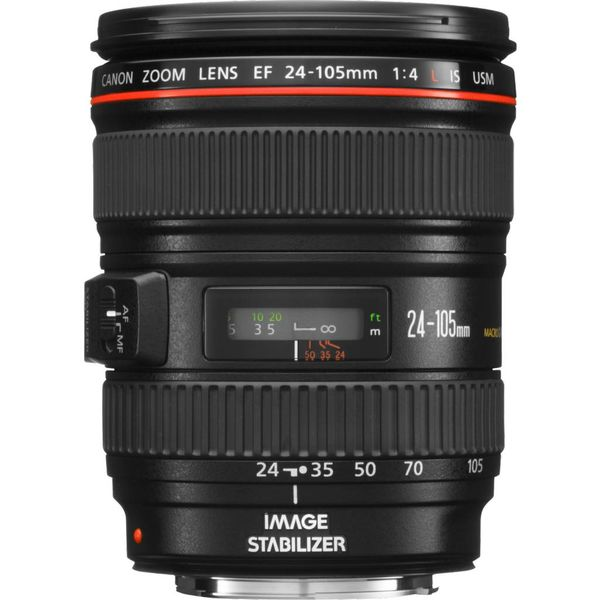 Canon EF 24-105 F4.0L zoomlens