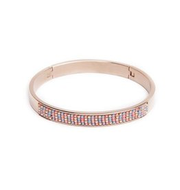 Silis The Bangle S Miyuki / Pink Gold