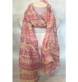 Sjaal Neon Aztec