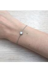 Reed Stone Bracelet Silver